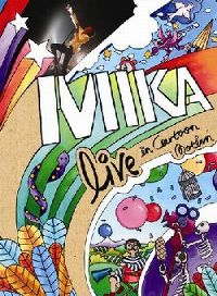 Cover Mika - Live In Cartoon Motion [DVD]